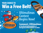 Win a Belt in our UltimaXmas Contest