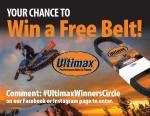Your Chance to Win a Free Belt